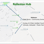 Rolleston Map